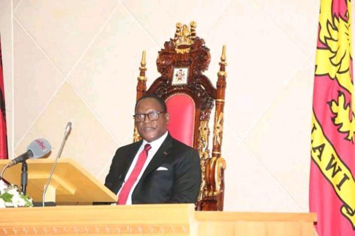 President Lazarus Chakwera